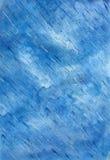 Fondo azul del extracto de la acuarela Fotografía de archivo