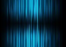 Fondo azul del extracto de la onda Imagen de archivo libre de regalías