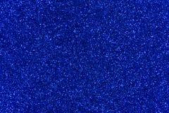 Fondo azul del extracto de la textura del brillo Foto de archivo