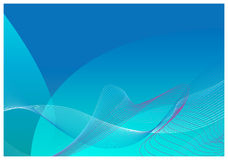 Fondo azul del extracto del modelo de la alta calidad Ilustración del Vector