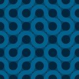 Fondo azul del flujo ilustración del vector