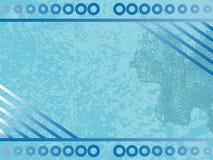 Fondo azul del grunge libre illustration