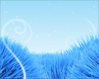 Fondo azul del hielo Fotografía de archivo
