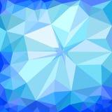 Fondo azul del hielo del invierno ilustración del vector