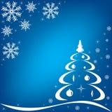 Fondo azul del invierno. libre illustration