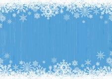 Fondo azul del invierno Fotos de archivo libres de regalías