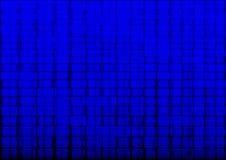 Fondo azul del ladrillo Foto de archivo libre de regalías