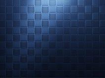 Fondo azul del metal Imágenes de archivo libres de regalías