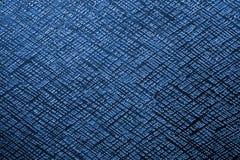Fondo azul del metal Fotografía de archivo libre de regalías