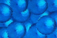 Fondo azul del modelo de la burbuja Imagenes de archivo
