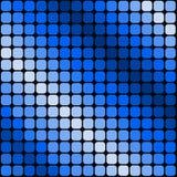 Fondo azul del modelo de las cortinas Foto de archivo libre de regalías