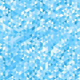 Fondo azul del mosaico - inconsútil Imagen de archivo