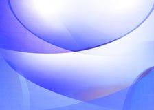 Fondo azul del remolino stock de ilustración