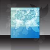 Fondo azul del vintage abstracto para el diseño Fotos de archivo libres de regalías