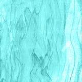 Fondo azul dibujado mano abstracta de la acuarela de la pintura, ejemplo de la trama Imágenes de archivo libres de regalías