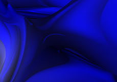 Fondo azul (extracto) ilustración del vector
