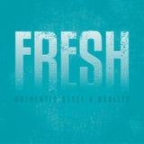 Fondo azul fresco del diseño Fotografía de archivo libre de regalías