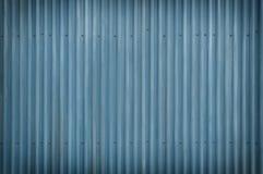 Fondo azul fresco del Grunge del metal Imagen de archivo libre de regalías