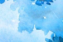 Fondo azul hermoso Foto de archivo libre de regalías