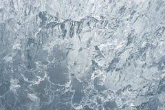 Fondo azul impresionante del hielo imagen de archivo