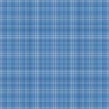 Fondo azul inconsútil de la tela escocesa Fotos de archivo libres de regalías