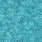 Fondo azul inconsútil de la textura de los azulejos Fotografía de archivo