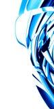 Fondo azul liso stock de ilustración