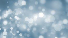 Fondo azul Loopable del Año Nuevo almacen de video