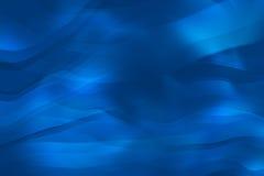Fondo azul ondulado