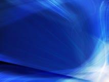 Fondo azul profundo abstracto Fotografía de archivo