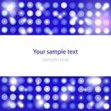 Fondo azul que brilla intensamente abstracto Imagen de archivo