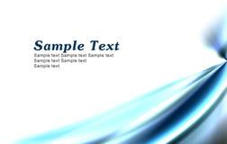 Fondo azul simple Imagenes de archivo