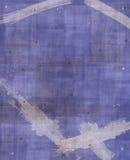 Fondo azul y blanco de Grunge Imágenes de archivo libres de regalías