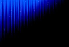 Fondo azul y negro Stock de ilustración