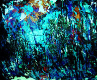 Fondo, azul y negro de Grunge Foto de archivo libre de regalías