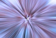 Fondo azul y púrpura explosivo con la falta de definición radial Imágenes de archivo libres de regalías