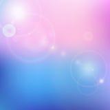 Fondo azul y rosado de la falta de definición del vector Fotografía de archivo libre de regalías
