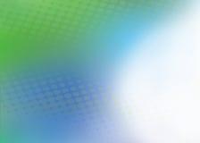Fondo azul y verde abstracto Ilustración del Vector