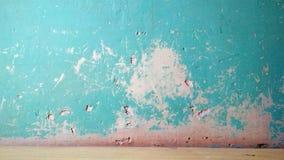 Fondo azulverde de la pared de la textura del Grunge foto de archivo libre de regalías