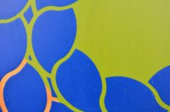 Fondo azulverde de madera de la pintura texturizado coloreado Imágenes de archivo libres de regalías