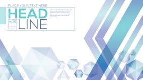 Fondo bajo abstracto de la tecnología de diseño del polígono libre illustration