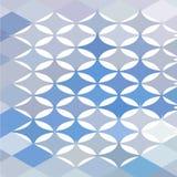 Fondo bajo abstracto del polígono de las estrellas Imagenes de archivo