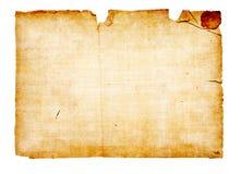 Fondo bajo la forma de papel viejo Imagen de archivo libre de regalías