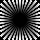 Fondo bajo la forma de sol blanco con los rayos libre illustration