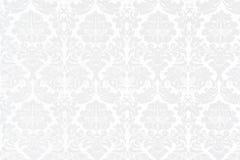 Fondo barroco blanco Fotografía de archivo libre de regalías