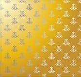 Fondo barroco de oro Imagen de archivo libre de regalías