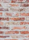 Fondo basato sulla muratura del mattone macchiato immagine stock