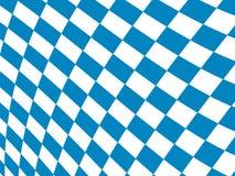 Fondo bavarese del modello della bandiera Progettazione del contesto per Oktoberfest illustrazione di stock