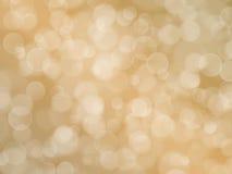 Fondo beige abstracto con efecto del boke stock de ilustración