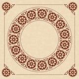 Fondo beige con la struttura di marrone scuro Royalty Illustrazione gratis